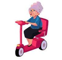 Les transports des seniors a mobilité réduite