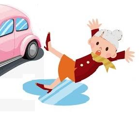 Les chutes et accidents des seniors