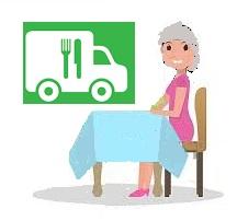 Livraison des repas à domicile des seniors