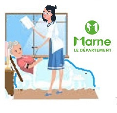 Service d'aide à domicile dans  le département de la Marne