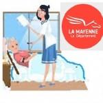 Liste des services d'aide à domicile  dans le département de la Mayenne