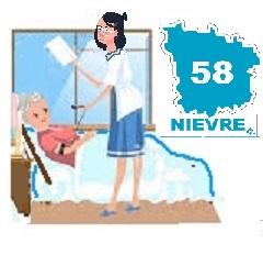Liste des services d'aide à domicile dans le département de la Nièvre