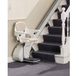 C'est quoi la définition d'un monte-escalier droit?