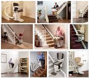 Quels sont les différents types de monte escalier électriques?