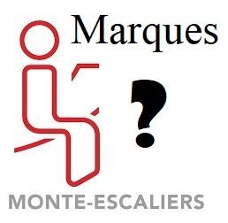 Quelles sont les différentes marques de monte-escalier?